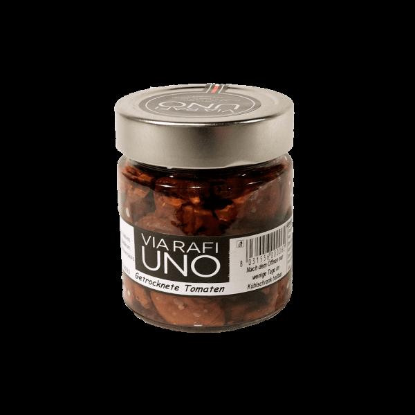 Getrocknete Tomaten in Öl, Via Rafi Uno