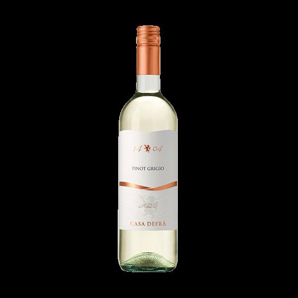 Der Pinot Grigio ist ein sehr oft von uns verkaufter Wein.