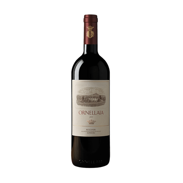 Der Ornellaia Bolgheri Superiore von der Tenuta Dell'Ornellaia ist ein sehr exklusiver Rotwein.