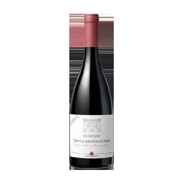 Der Vigna Monticchio Rubesco von Lungarotti ist ein Rotwein allererster Klasse.