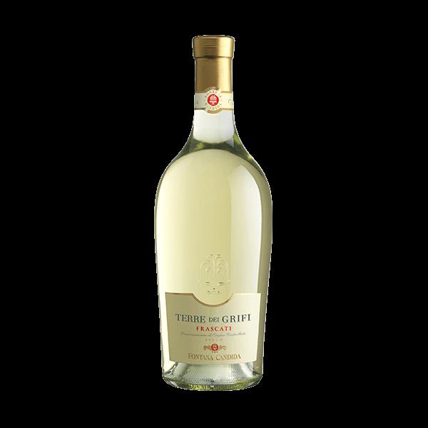 Der Frascati Terre dei Grifi von Fontana Candida ist ein sehr guter Wein.
