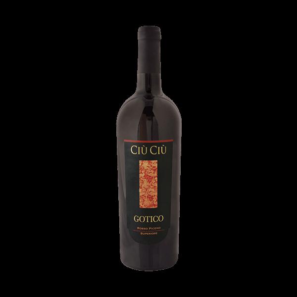 Gotico Superiore ist ein veganer Bio Wein.