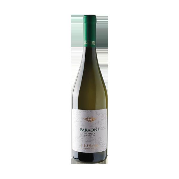 Der Faraone ist ein reinsortiger Verdeca-Weißwein von I Pastini.