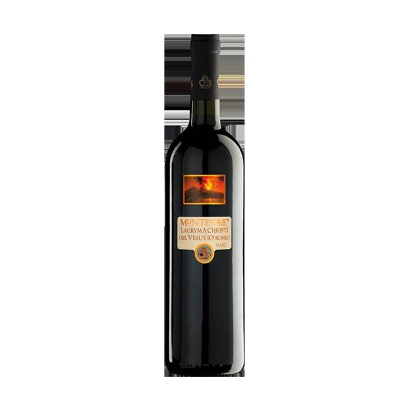 Der Lacryma Christi Rosso von Montesole ist ein sehr guter Rotwein.