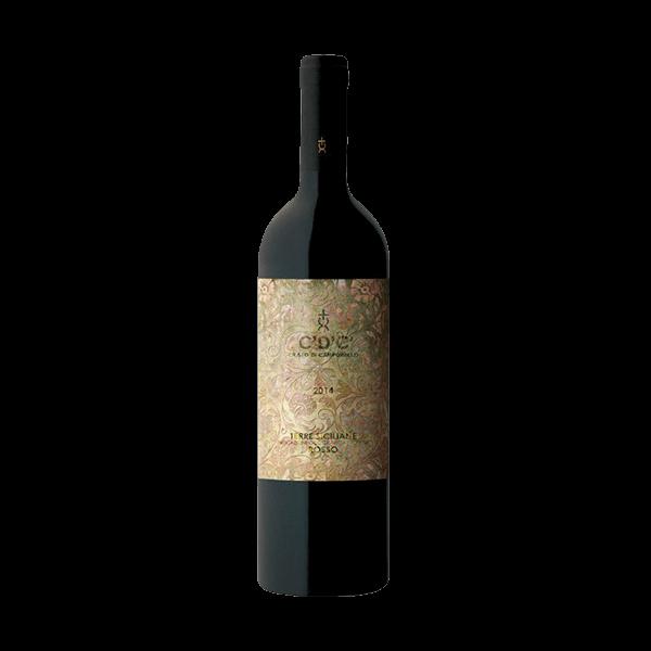 Der C'D'C' Rosso von Cristo di Campobello ist ein sehr guter sizilianischer Wein.