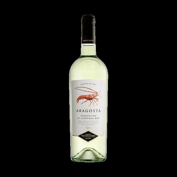 Der Aragosta Vermentino von Santa Maria La Palma aus Sardinien ist eine Empfehlung wert.