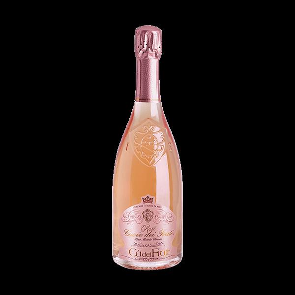 Der Rosé Cuvée dei Frati von Cà dei Frati ist ein sehr guter Spumante.