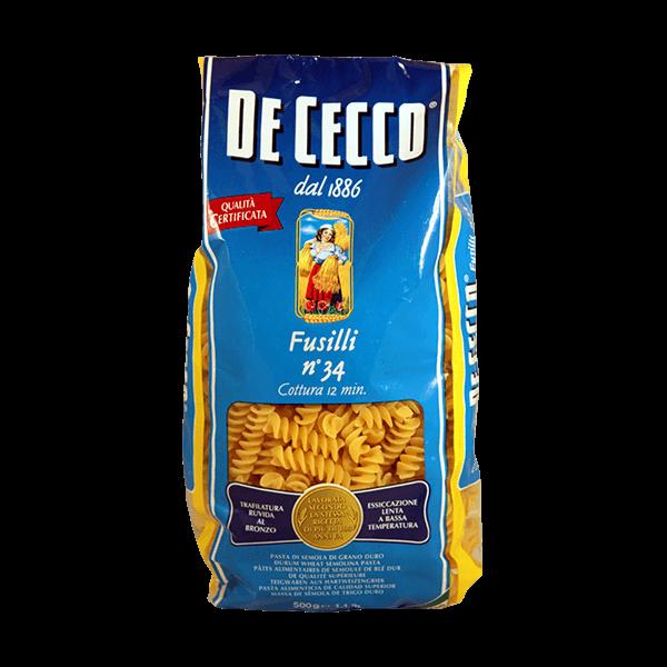 Fusilli von De Cecco