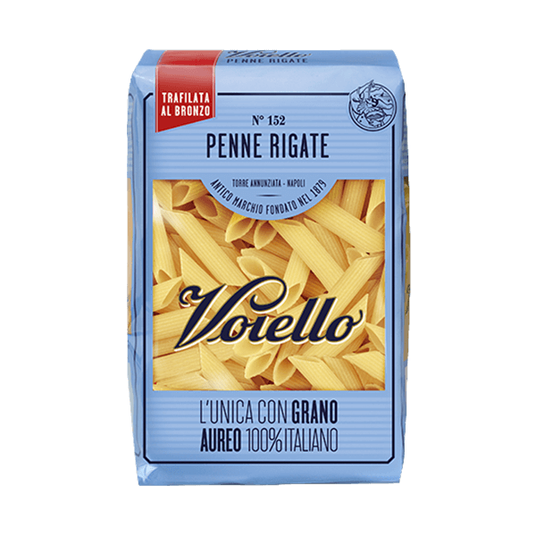 Die Penne Rigate von Voiello ist ein gute Wahl bei Pasta all'arrabiata. Buon appetito!