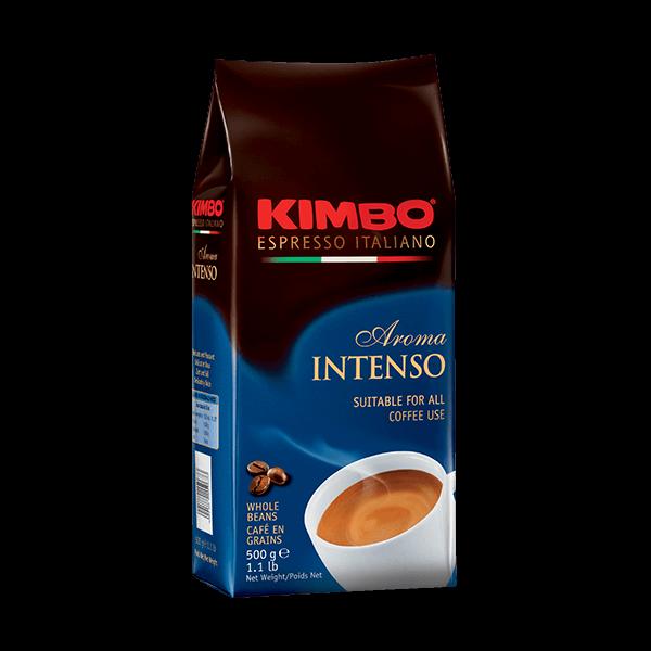 Der Espresso Aroma Intenso ist ein schöner Blend von Kimbo.