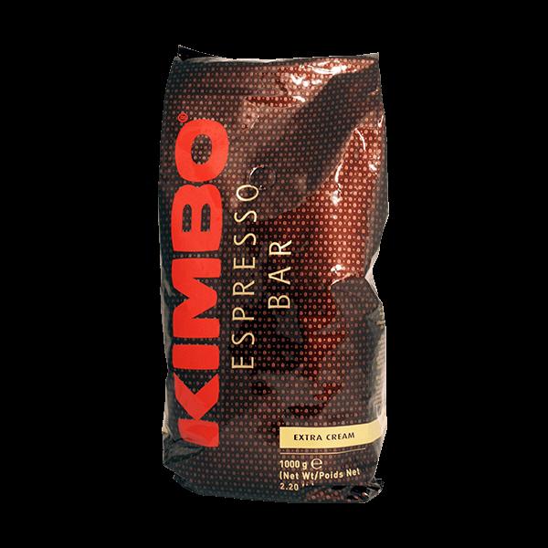 Der Espresso Extra Crema von Kimbo ist ein wunderbarer Blend für extra viel Crema.