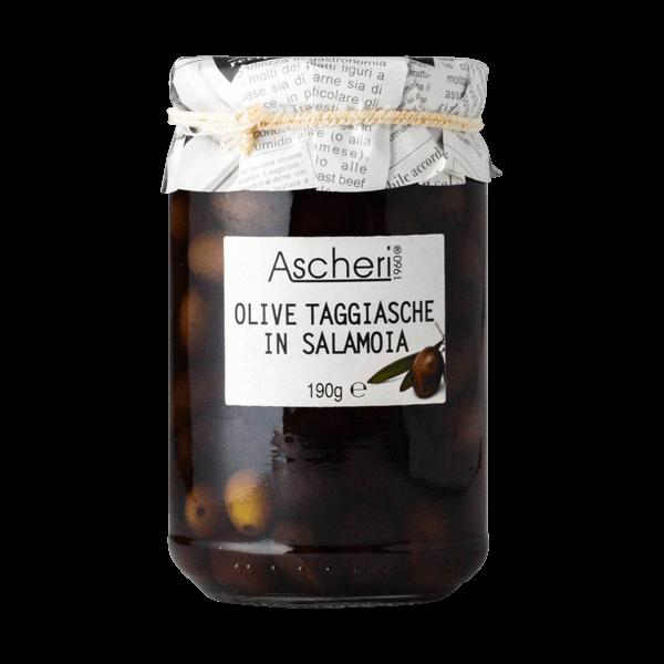 Oliven Taggiasche in Salzlake von Ascheri