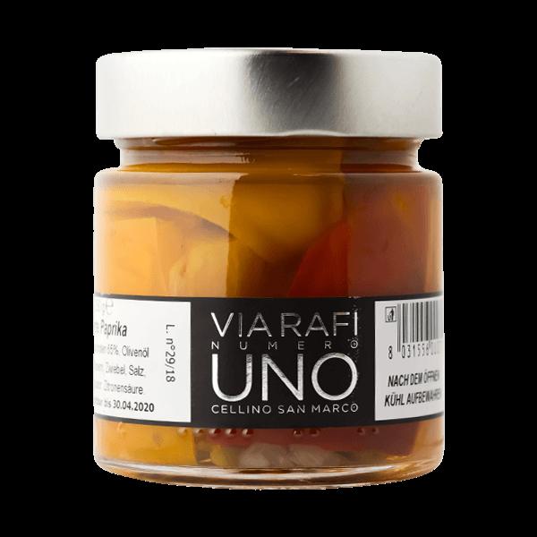 Die gegrillte Paprika von Via Rafi Uno