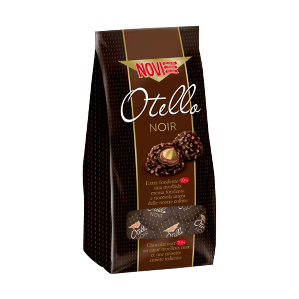 Cioccolatini Praline Otello Noir, Novi
