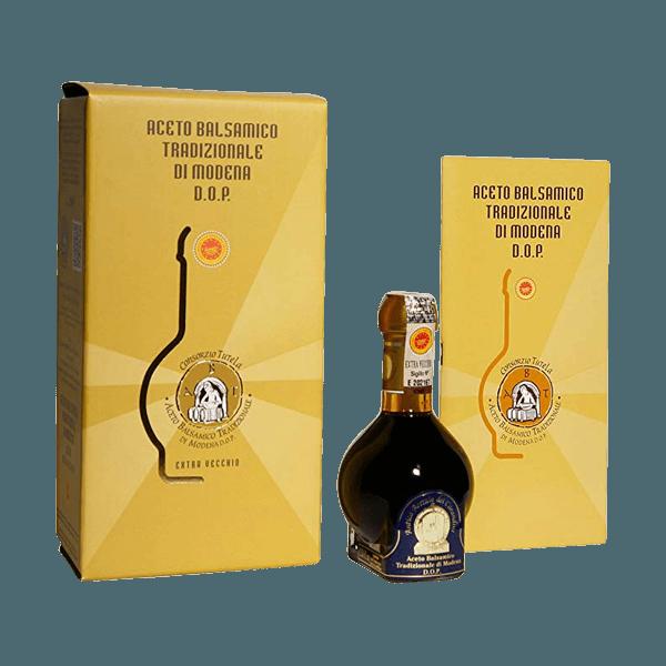 Der Aceto Balsamico tradizionale extra vecchio von Mussini ist das schwarze Gold aus Modena