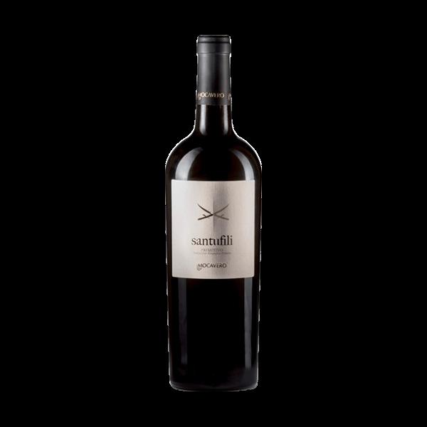 Der Santufili Primitivo von Mocavero ist ein sehr guter Wein aus Apulien.