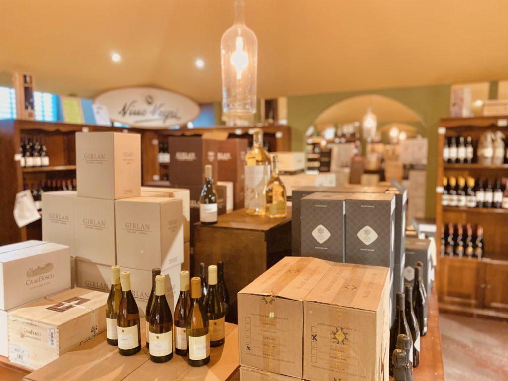 Unser Wein Laden in Charlottenburg.