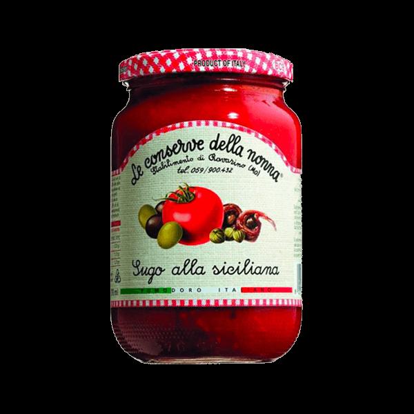 Die Sugo alla Siciliana von Le Conserve della Nonna