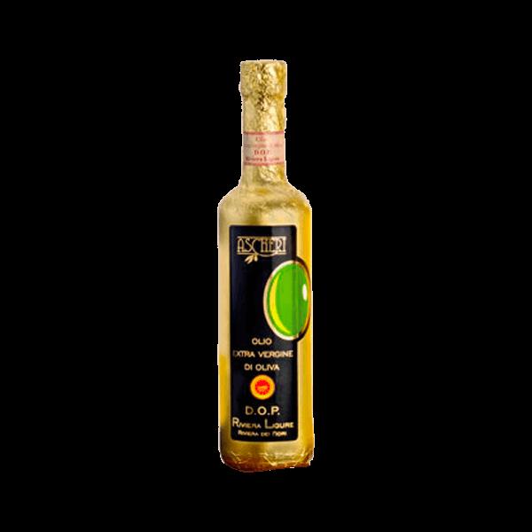 Das Olivenöl Extra Vergine Riviera dei Fiori von Ascheri ist feinste Qualität.