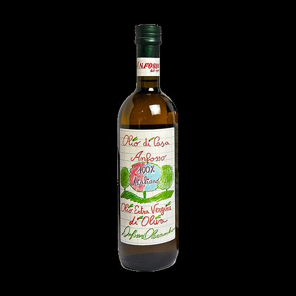Das Olivenöl Extra Vergine Bambino von Anfosso ist ein sehr gutes weil kaltgepresstes Olivenöl.