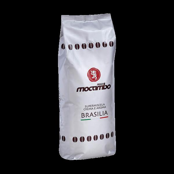 Der Espresso Brasilia von Mocambo ist aus 60% Arabica und 40% Robusta.