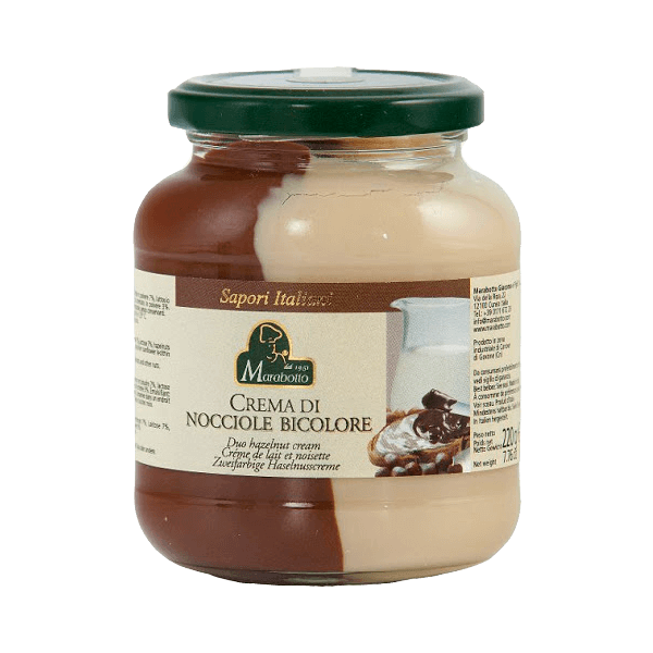 Crema di Nocciole Bicolore von Marabotto