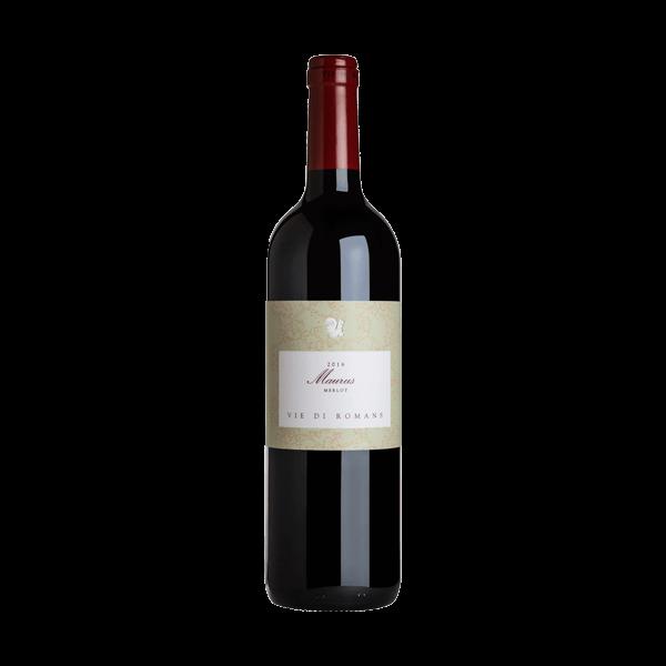 Der Maurus Merlot von Vie di Romans ist ein sehr guter Rotwein.