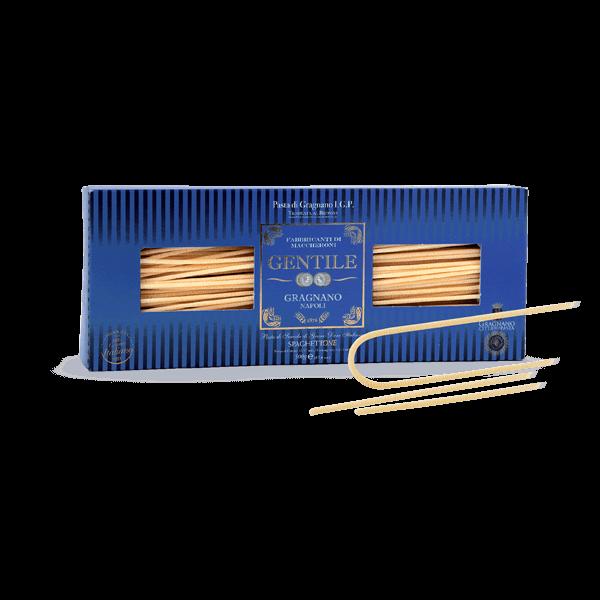 Die SpaghettONE von Gentile sind das unglaublich gute Original aus Gragnano.