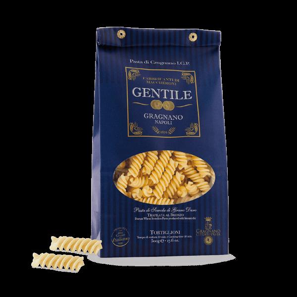 Die Tortiglioni von Gentile sind das unglaublich gute Original aus Gragnano.